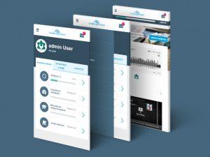 Responsiv visning av Medborgarskolan Totara i mobil