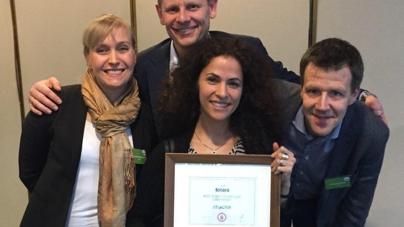 Xtractor prisbelönta för bästa Totara-projekt globalt