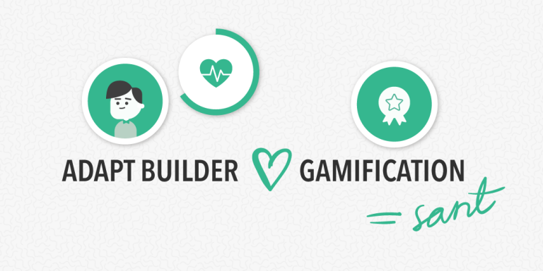 Adapt Builder hjärta Gamification lika med sant.