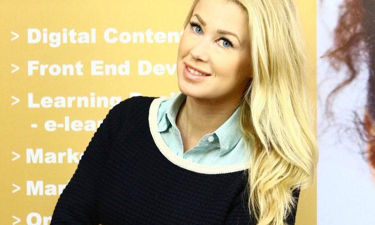 Sofia Jonsson nyanställd manusförfattare och e-learningproducent