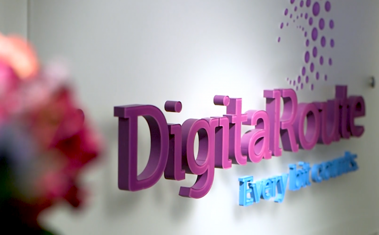 DigitalRoute - logotyp