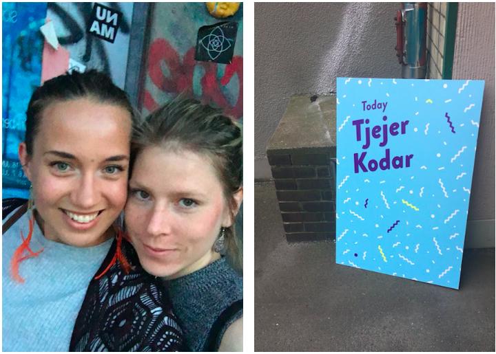 Johanna och Frida i Berlin