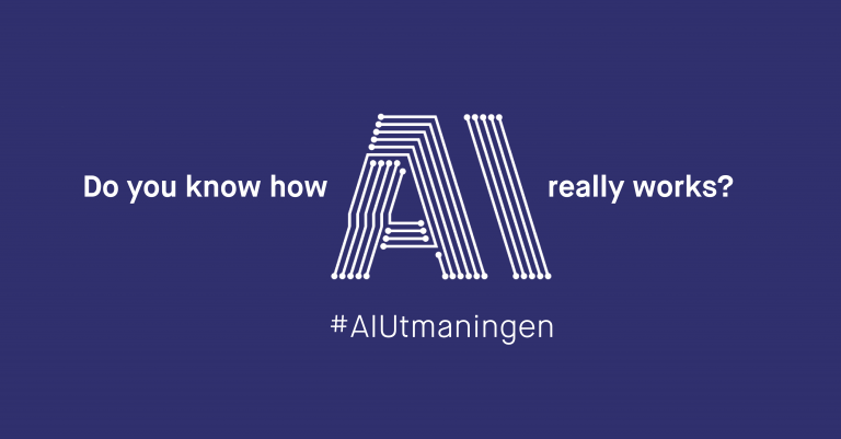 Do you know how AI really works? #AIUtmaningen