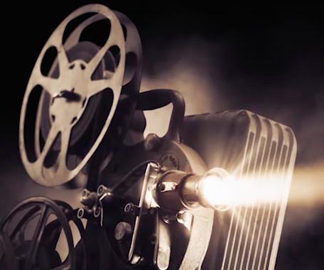 Filmprojektor.