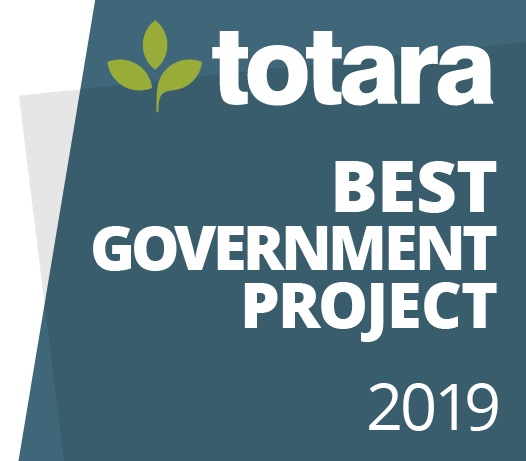 Logo: Totara Best Government Project 2019