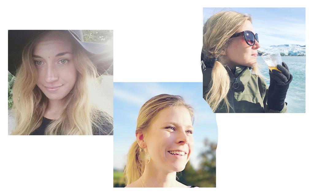 Porträtt av Johanna Lundgren, Frida Fredblad och Anna Jönsson.